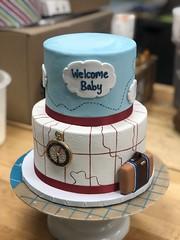 IMG_6938 (backhomebakerytx) Tags: texas back home bakery backhomebakery texasbakery cake baby two tier airplane travel