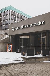 Oslo, Nationaltheatret stasjon