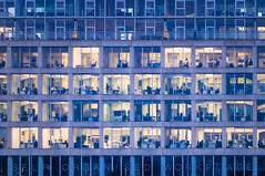 Self Organised Workplace (Ratzemaus) Tags: medienhafen düsseldorf architecture architektur arbeit work fenster windows