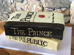 IMG_6496 (backhomebakerytx) Tags: texas back home bakery backhomebakery texasbakery cake groom grooms texasgroom books stacked