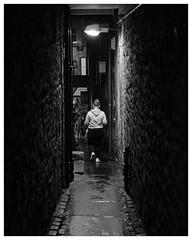 Backstreets, Royal Mile, Edinburgh(5) (S.R.Murphy) Tags: edinburgh fujifilmxf35mmf2 night nov2019 urban urbanlandscape fujifilmxt2 nightphotography socialdocumentary streetphotography bw blackandwhite monochrome alley