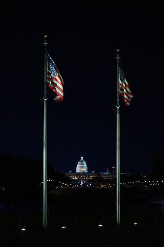 The US Capitol from the Washington Monument