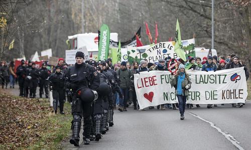 Demo am 30.11.2019 in der Lausitz mit F4F
