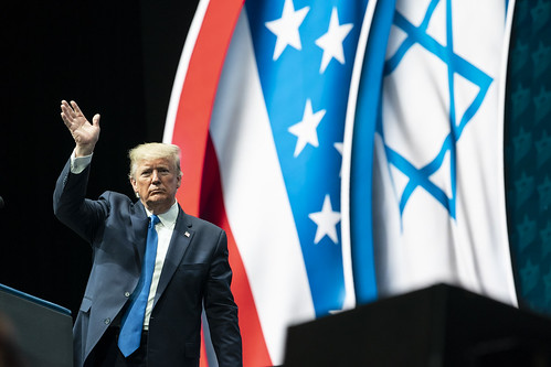 President Trump at the Israeli American by The White House, on Flickr