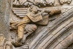 DSC6560 Portada de Platerías, siglo XII, Catedral de Santiago de Compostela (Ramón Muñoz - Fotografía) Tags: galicia santiago de compostela a coruña la catedral puerta portada fachada platerías