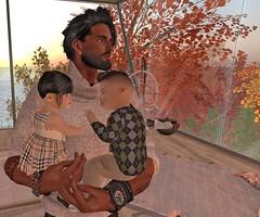 Bella Danny and Kimo (Kimo Dezno) Tags: bella danny kimo dezno home thanksgiving fall leaves color trees
