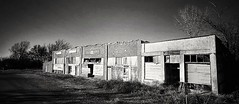 after the boom...(HMM) (BillsExplorations) Tags: monchromemonday monochrome blackandwhite ghosttown oklahoma abandoned forgotten closed outofbusiness neglected