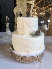 IMG_6695 (backhomebakerytx) Tags: texas back home bakery backhomebakery texasbakery cake winter wedding bride brides bridalcake two tier
