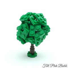 Microtree (4 of 7) (Emil Lidé) Tags: lego moc microscale tree