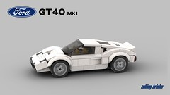 Ford GT40 Mk1 - INSTRUCTIONS - (Rolling bricks) Tags: lego speed champions speedchampions oldtimer car legocar vintage classic classiccar sportscar racingcar racecar instructions supercar hypercar 6studs 6wide minifig minifigure city musclecar muscle fordgt40 ford gt 40 gt40