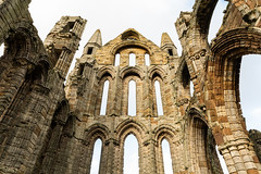 _DSC1727r (gstamets) Tags: whitby yorkshire northyorkshire northsea sea ocean water beach coast yorkshirecoast yorkshiregoldcoast england unitedkingdom uk britain greatbritain autumn whitbyabbey abbey church ruins