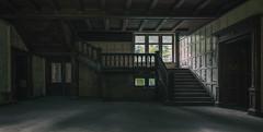 The Home (michael_hamburg69) Tags: lostplace offthemap abandonedplace urbanexploration urbex phototourmit3daybeard3tagebart unterwegsmitchristian gutshaus herrenhaus gutshof stairs treppe wooden holztreppe holz paneel paneele holzvertäfelung woodpaneling