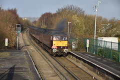 47826 Aintree (Blundell Photography) Tags: class47 47826 47245 aintree aintreestation merseyside merseyrail 1z29 1z291250ormskirksouthport clag thrash mk1 northern northernline branchlinesociety bls
