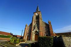 PAYSAGES DE PICARDIE 544 (Alain Père Fouras) Tags: picardie église saintmartin village architecture religion chrétienté culte