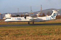 Flybe G-JECL BHD 09/12/19 (ethana23) Tags: planes planespotting aviation avgeek aircraft aeroplane airplane flybe bombardier dash8 dehavillandcanada dehavilland q400