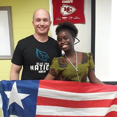 Rita from Liberia 1 (AFS-USA Intercultural Programs) Tags: afs usa host students hosted iew international education week presentation classroom class school instagram contest