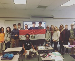 Mahmoud from Egypt 4 (AFS-USA Intercultural Programs) Tags: afs usa host students hosted iew international education week presentation classroom class school instagram contest