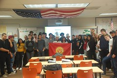 Gulnazik from Kyrgyzstan 10 (AFS-USA Intercultural Programs) Tags: afs usa host students hosted iew international education week presentation classroom class school instagram contest