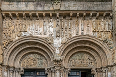 DSC6548 Portada de Platerías, siglo XII, Catedral de Santiago de Compostela (Ramón Muñoz - Fotografía) Tags: galicia santiago de compostela a coruña la catedral puerta portada fachada platerías