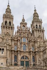 DSC6520 Fachada del Obradoiro, siglo XVIII, Catedral de Santiago de Compostela (Ramón Muñoz - Fotografía) Tags: galicia santiago de compostela a coruña la catedral portada fachada occidental puerta