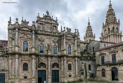 DSC6514 Fachada de la Azabacheria, siglo XVIII, Catedral de Santiago (Ramón Muñoz - Fotografía) Tags: galicia santiago de compostela a coruña la catedral puerta azabachería fachada portada