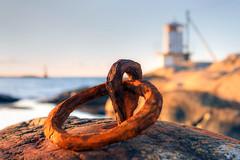 Rusty ring (diesmali) Tags: ring rust ironlighthouse hönö öckerö klova klåva fyr gothenburg göteborg skärgård archipelago detail bokeh canoneosr sigma50mmf14dghsmart