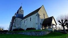 PAYSAGES DE PICARDIE 547 (Alain Père Fouras) Tags: picardie église religion culte architecture monument styleroman clocher