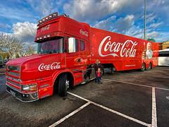 Photo of Coca Cola Truck Manchester 2019