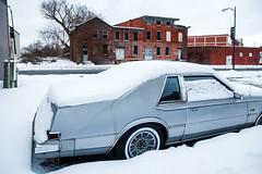 Utica, NY - 12/5/19 - #365 (joefgaylor) Tags: utica newyork rust car chrysler snow winter abandoned