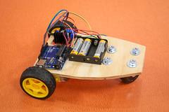 Arduino Robot (The New School AR) Tags: arduino robot robotics steam masterclass master class