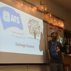 Abbasss from Nigeria 1 (AFS-USA Intercultural Programs) Tags: afs usa host students hosted iew international education week presentation classroom class school instagram contest