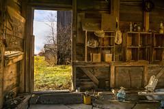 Rustic Passageway (JACK TOME) Tags: farm doorway shed rustic ontariofarm
