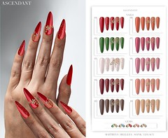 Santa inc. | December 7th (Kah Melody | ASCENDANT) Tags: bento nails santa inc ascendant holly maitreya belleza slink legacy christmas