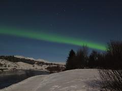 08.12.19 Zero activity but still lot of lights... (Dagnystef) Tags: polarlights þingvellir iceland northernlights nighttime