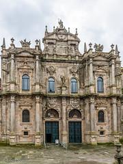 DSC6515 Fachada de la Azabacheria, siglo XVIII, Catedral de Santiago (Ramón Muñoz - Fotografía) Tags: galicia santiago de compostela a coruña la catedral puerta azabachería fachada portada