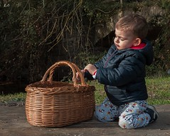 My nephew (lauracastillo5) Tags: baby cute family beautiful love autumn fall winter sunset forest