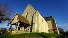 PAYSAGES DE PICARDIE 546 (Alain Père Fouras) Tags: picardie église styleroman culte chrétienté religion pierres architecture monument