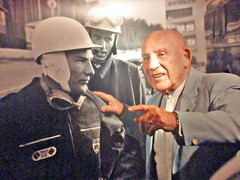 001 Who do you think you are - Stirling Moss (robertknight16) Tags: stirling stirlingmoss moss nec nec2015 perxonalities drivers