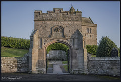 Arched gateway to Chirnside Parish Church DSC_4312 (dark-dave) Tags: scotland scottishborders church arch gateway chirnside edwardmarjoribanks edwardmarjoribanks2ndbarontweedmouth