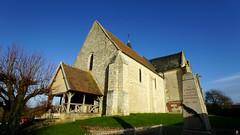 PAYSAGES DE PICARDIE 545 (Alain Père Fouras) Tags: picardie église religion chrétienté monument culte roman architecture pierres