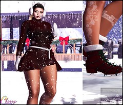 Ready-For-Ice-Skating-😀 (ςђєяяч's Ⓢʇץℓǝ) Tags: maitreya mesh mainstore llcocollc newness poses jessposes pinkpearldesigns catwa catyabentohead applier posefair saturdaysale fiore stealthic