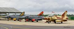 Dassault Mirage 2000D n° 652 ~ 3-XN , n° 602 ~ 3-XJ & n° 618 ~ 3-XC Armée de l'air (Aero.passion DBC-1) Tags: 2017 meeting st dizier dassault mirage 2000 ~ 3xn armée de lair dbc1 david biscove aeropassion avion aircraft aviation plane airshow