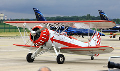 Waco UPF-7  n° 5711  ~ F-AZLC (Aero.passion DBC-1) Tags: 2017 meeting st dizier waco upf7 ~ fazlc dbc1 david biscove aeropassion avion aircraft aviation plane airshow collection