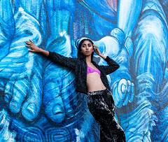 Winter Fashion Editorial (raw_portraiture) Tags: published fashion editorial portrait styled graffiti street art magazine