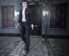 Just a walk... (ThiegoFire) Tags: signature locktuft minimal contraption raonhausen skin exclusive sl male men man boy guy catwa style elegant outfit pic photography photo secondlife sexy albino malamanhadosl bento blog black lights cool