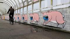 Bisser / Leuven - 7 dec 2019 (Ferdinand 'Ferre' Feys) Tags: belgium belgique belgië streetart artdelarue graffitiart graffiti graff urbanart urbanarte arteurbano ferdinandfeys leuven bisser