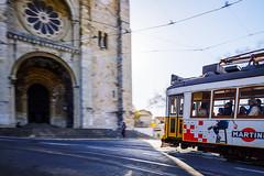 Lisbon (Kai-Uwe Klauss) Tags: lissabon portugal urlaub lisbon lisboa lisbona trambahn tram28 tram alfama architektur architecture architecturephotography streetphotography street strasenbahn strase