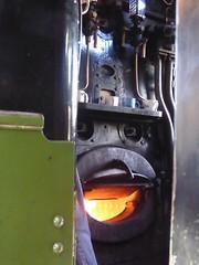 On the footplate (JuliaC2006) Tags: tornado steam locomotive engine boiler mugs 60165