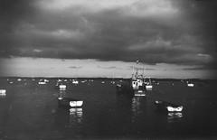 (von8itchfisk) Tags: film filmisnotdead 120film mediumformat blackandwhite washi ishootfilm analog analogphotography vonbitchfisk boats felixstowe felixstoweferry fishing suffolk eastanglia