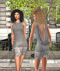 LuceMia - Swank Event (2018 SAFAS AWARD WINNER - Favorite Blogger -) Tags: swankevent swankco hair firelight open back party dress silver gold hilary curls sexi sl secondlife mesh fashion creations blog beauty hud colors models lucemia marketplace mainstore